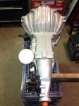 Muncie M20 Wide Ratio 4 speed transmission